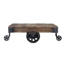 Baggage Cart Trolley Coffee Table | Coffee Tables | Tables