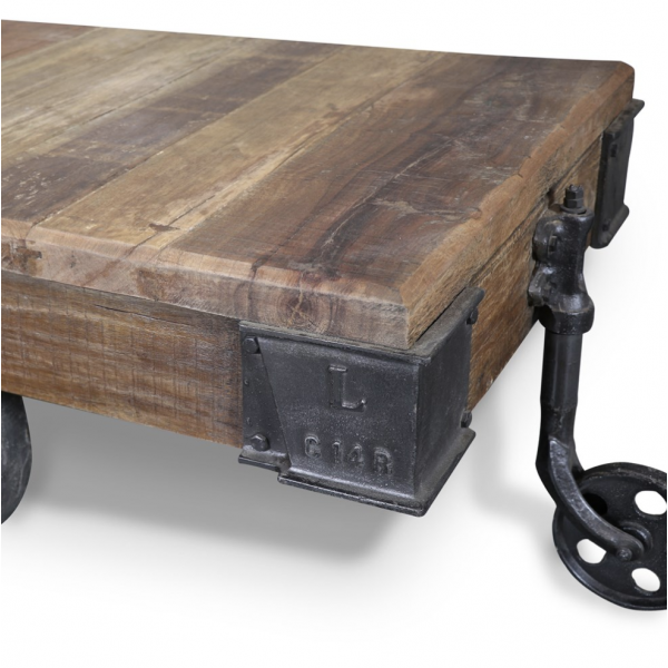 Baggage Cart Trolley Coffee Table Coffee Tables Tables Ido Interior Design Online