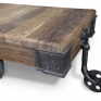 Baggage Cart Trolley Coffee Table