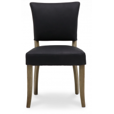 Crane Leather Chair - Aged Black | Dining Chairs | Seating | Seating