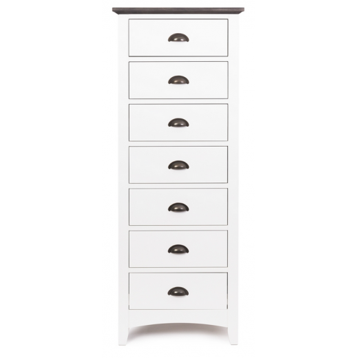 Provence 7 Drawer Tall Boy  | Drawers & Chests | Chests | Bedroom | Chests and Desks