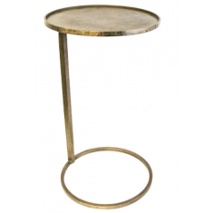 Circle Side Table Brass | Occasional Chairs | Tables | Tables | Tables
