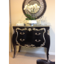 Bombay Chest Black & Silver