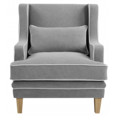 Greenport Arm Chair Grey  | Occasional Chairs | Seating | Seating | Seating