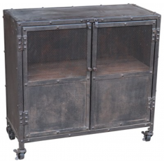 Antique Iron Industrial Cabinet  | Shelving, Storage & Cabinets | Storage, Shelving and Cabinets