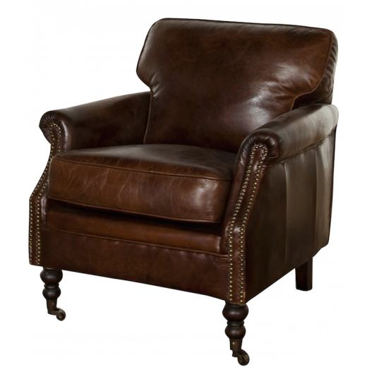 Lancaster Arm Chair Vintage Cigar | Occasional Chairs | Seating | Seating | Leather Furniture