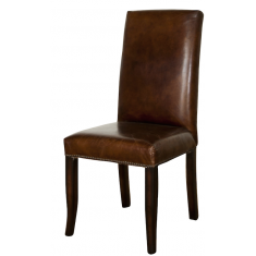 Edward Vintage Leather Chair | Dining Chairs | Seating | Seating | Seating | Leather Furniture