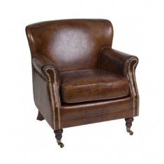 Mortimer Leather Chair | Occasional Chairs | Seating | Seating | Leather Furniture