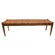 Rupert Bench Tan | Ottomans and Chaises | Seating | Seating | NEW ARRIVALS