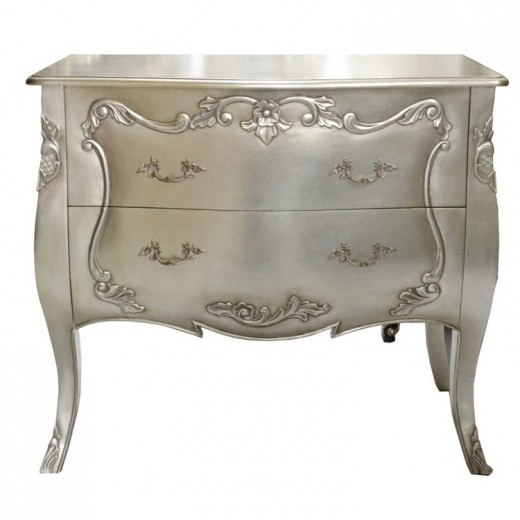 Bombay Chest Silver | Chests and Desks | Chests and Desks | Chests