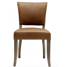 Crane Leather Dining Chair Chestnut  | Dining Chairs | Seating | Seating
