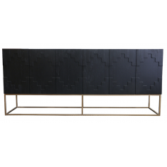 Brooklyn Sideboard Black Oak  | Sideboards & Consoles | Sideboards and Consoles