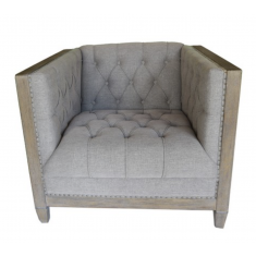 Chelmswood Arm Chair Grey Linen  | Occasional Chairs | Seating | Seating | Seating