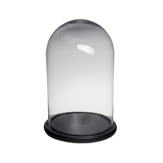 Tall Wide Dome Black Base | Home Décor & Gifts | Christmas