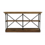 Provincial Iron & Pine Console