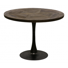 Cumberland Round Parquet Dining Table  | Dining Tables | Tables | Tables