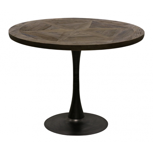 Cumberland Round Parquet Dining Table    Dining Tables   Tables   Tables