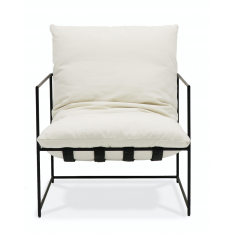 Lauro Club Chair Small - White | Occasional Chairs | Seating | NEW ARRIVALS