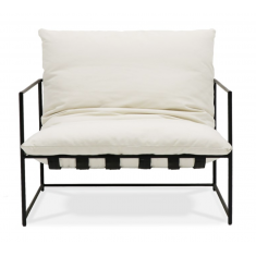 Lauro Club Chair Large - White | Occasional Chairs | Seating | NEW ARRIVALS