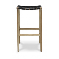 Hayes Counter Stool Black   Leather Furniture   Stools   Seating