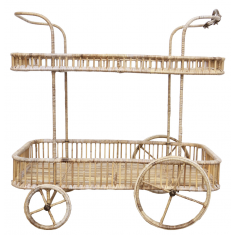 Rattan Trolley | Sideboards & Consoles | Sideboards and Consoles | Tables | NEW ARRIVALS