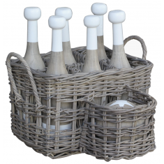 Bowling Set Vintage Grey | Home Décor & Gifts