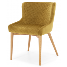 Paris Dining Chair Golden Velvet | Dining Chairs | Seating | Seating | Seating | NEW ARRIVALS
