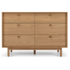 Rotterdam Oak 6 Drawer Chest  | Drawers & Chests | Chests and Desks | Bedroom | NEW ARRIVALS