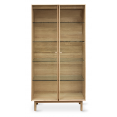 Rotterdam Oak Display Cabinet | Shelving, Storage & Cabinets | Storage, Shelving and Cabinets | Shelving & Cabinets | NEW ARRIVALS