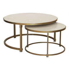 Marco Marble Nesting Coffee Tables | Coffee Tables | Tables | Tables | Tables | NEW ARRIVALS | Home