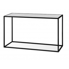 Elle Cube Marble ConsoleWhite/Black | Sideboards & Consoles | Sideboards and Consoles | Sideboards and Consoles