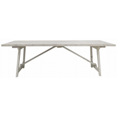 Loire Dining Table Whitewash | Dining Tables | Tables | Tables