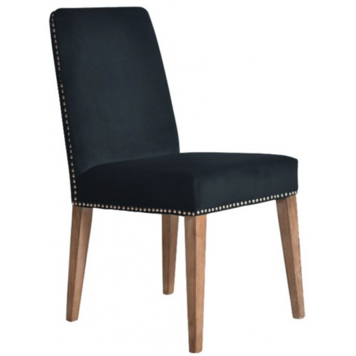 Pascal Dining Chair Navy Blue Velvet | Dining Chairs | Seating | Seating | Seating | NEW ARRIVALS | Home