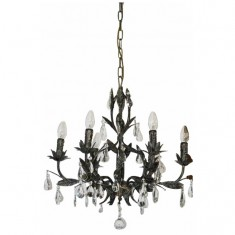 Florence Chandelier Taupe | Chandeliers