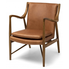 Finn Arm Chair Cognac Leather  | Occasional Chairs | Seating | Seating | NEW ARRIVALS