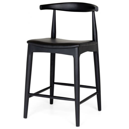 Elbow Barstool Black  | Stools | Seating | Seating | Home