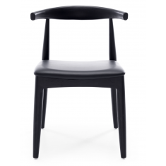 Elbow Dining Chair Black  | Seating | Seating | Dining Chairs