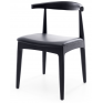 Elbow Dining Chair Black