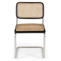 Breuer Dining Chair Black & Oak  | Dining Chairs | Seating | Seating