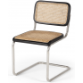 Breuer Dining Chair Black & Oak