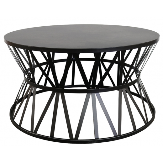 Karon Black Iron Coffee Table  | Coffee Tables | Tables | Tables