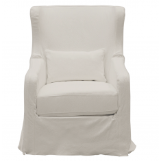 Cape Cod Swivel Chair White  | Occasional Chairs | Seating | Seating | Seating | NEW ARRIVALS