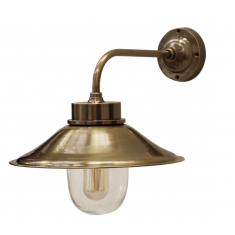 Cape Cod Brass Outdoor Wall Lamp