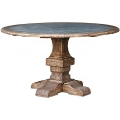 Elm & Zinc Dining Table  | Dining Tables | Tables | Tables | Tables | NEW ARRIVALS