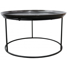 Calypso Coffee Table Dark Gunmetal  | Coffee Tables | Tables | Tables | NEW ARRIVALS