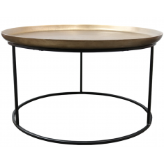 Calypso Coffee Table Brass  | Coffee Tables | Tables | Tables