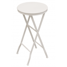 Lulu Metal Side Table White  | Ocassional Tables | Tables | Tables | Tables