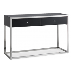 Ashton Mirrored Console Black  | Mirrored Furniture | Sideboards & Consoles | Sideboards and Consoles | Sideboards and Consoles