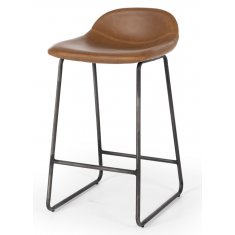 Haus Barstool Vintage Cigar PU  | Stools | Seating | Seating | NEW ARRIVALS