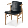 Flores Dining Chair Black